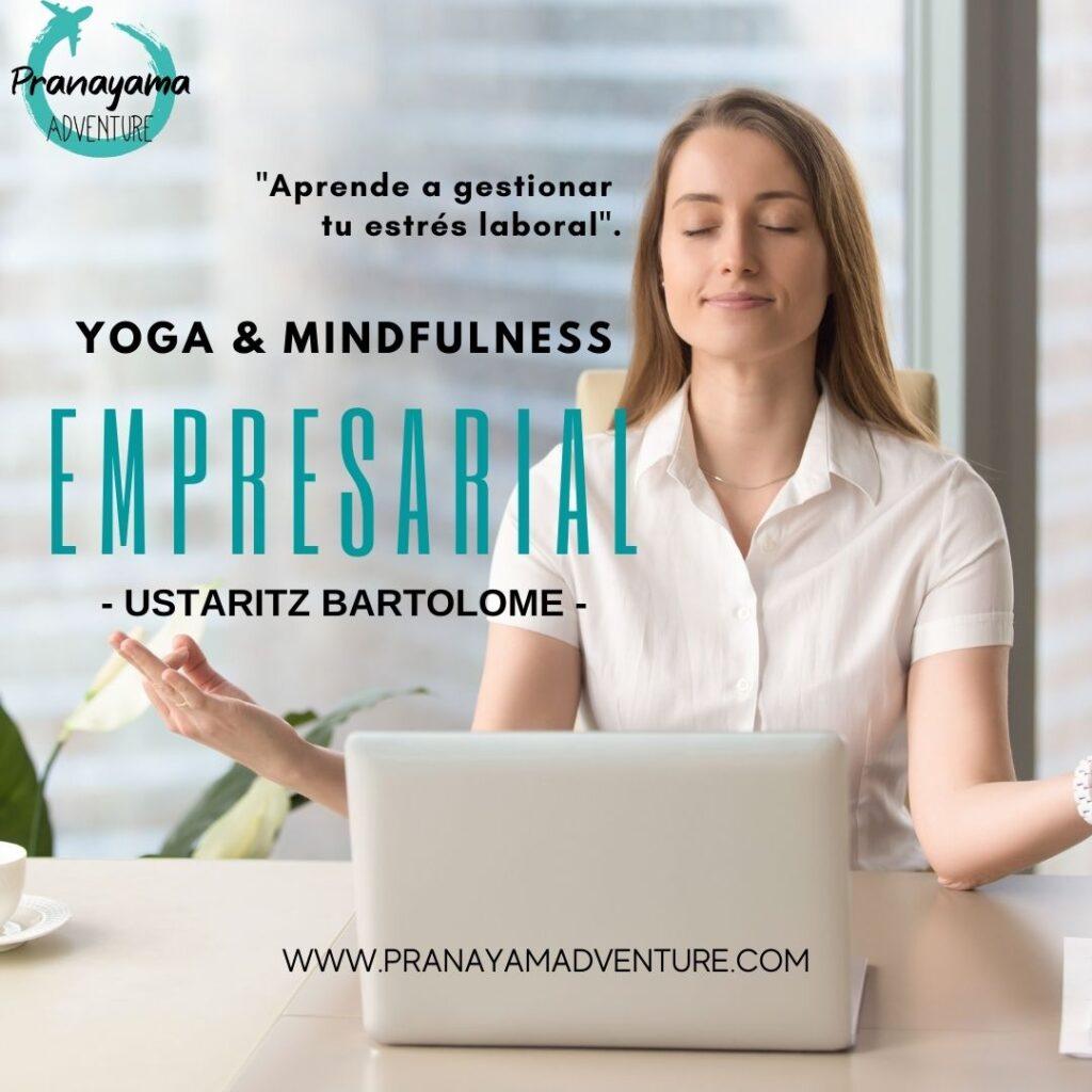 Clases de Yoga para empresas | Pranayama Adventure